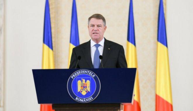 Foto: Ce spune preşedintele Klaus Iohannis, cu ocazia Zilei Pompierilor