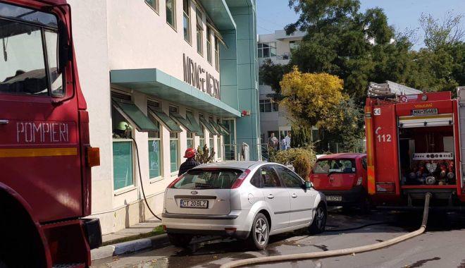 Foto: ALERTĂ MAXIMĂ! SAUNA UNUI HOTEL DIN EFORIE, CUPRINSĂ DE FLĂCĂRI! VIDEO