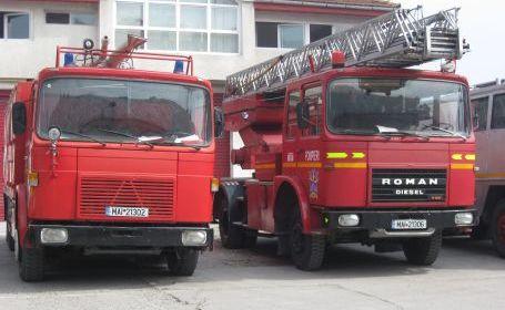 Foto: Incendiu la Medgidia, lângă Lafarge
