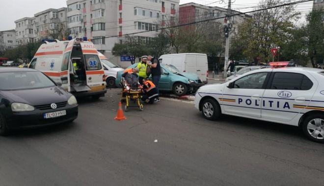 Foto: Galerie foto. Accident grav la Constanţa! UPDATE