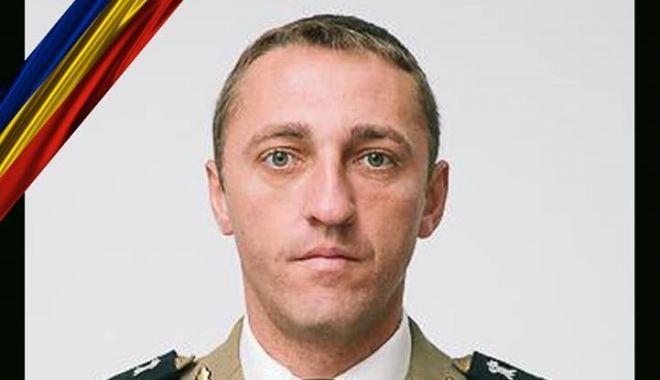 Foto: Cine este militarul mort în misiune, azi, la Alba Iulia