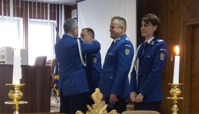 Foto: Avansări în grad la Jandarmeria Constanţa
