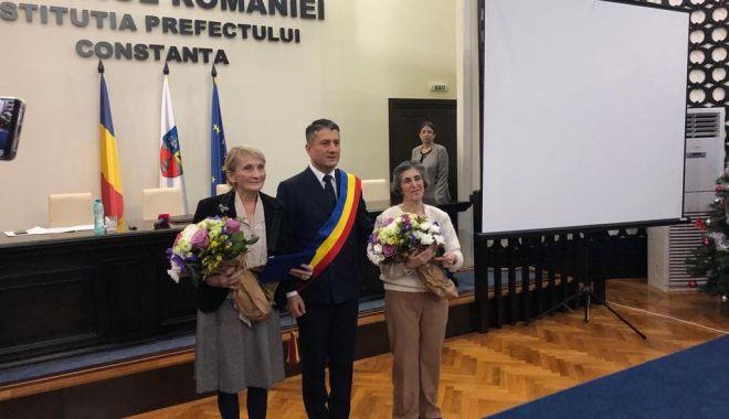 Foto: Constanţa are doi noi cetăţeni de onoare