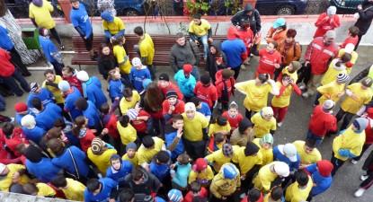 """Foto: """"Valuri"""" tricolore pe străzile Constanţei (galerie foto)"""
