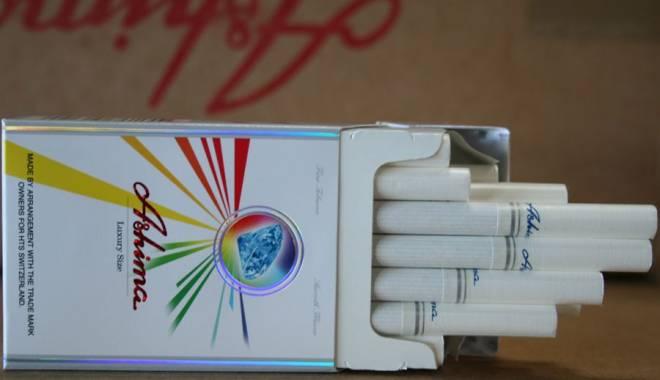 Foto: Ţigări de contrabandă, confiscate la Vama Veche