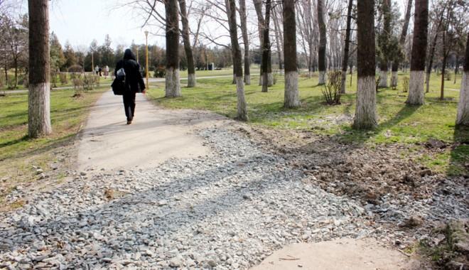 Foto: GALERIE FOTO/ Parcul Tăbăcăriei, sub povara nepăsării!