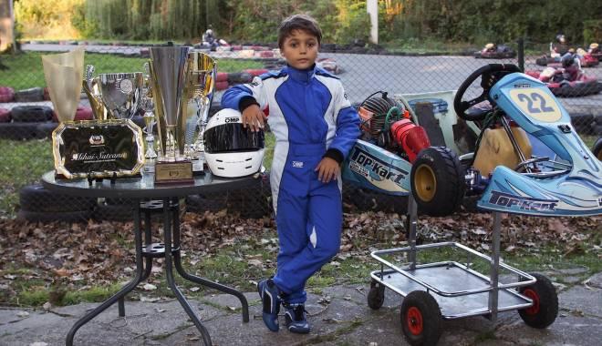 Foto: Galerie foto. Constănţeanul Mihai Suteanu, campion naţional la karting
