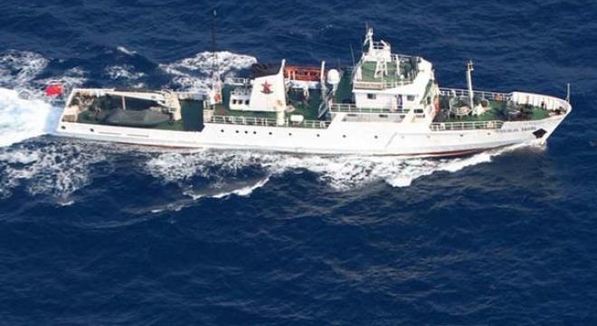 Foto: Nave militare chineze, în apropierea unor insule japoneze