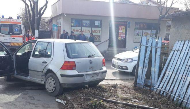 Galerie foto. Accident cu o victimă, în Eforie, din cauza unui şofer care nu a oprit la STOP