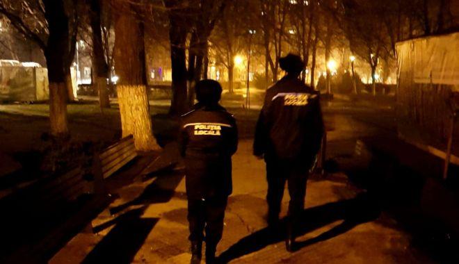 Foto: Razii în cartierul Coiciu și în parcurile din municipiul Constanța!