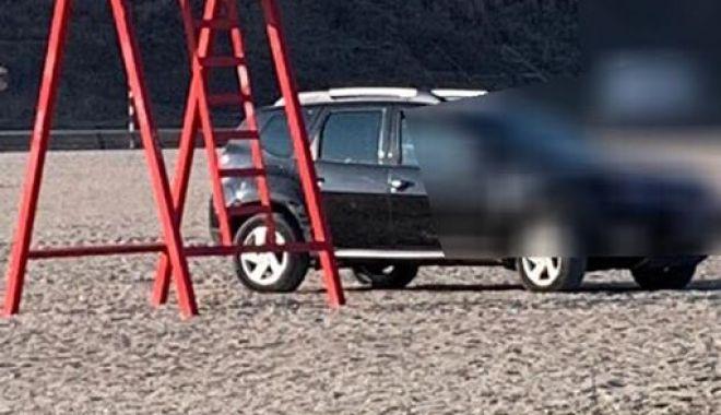 Galerie foto! Amendă usturătoare, pentru un şofer prins cu maşina pe plaja Trei Papuci - 51626831564139487435287297766773-1549877806.jpg
