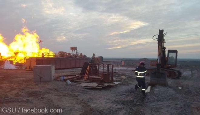Foto: Situaţie gravă! Pompierii nu pot stinge un incendiu. Au sosit specialişti din Canada
