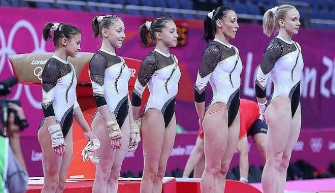 Foto: Jocurile Olimpice 2012: Medalie de bronz pentru gimnastele Rom�niei