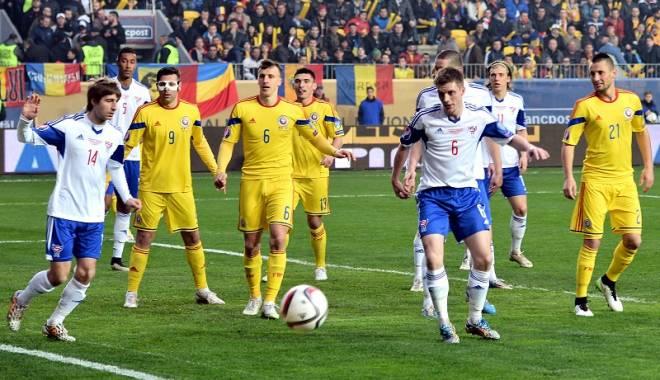"""Foto: România, în urna a treia la tragerea la sorţi pentru grupele Campionatului European! Cum ar putea arăta grupa pentru """"tricolori"""""""
