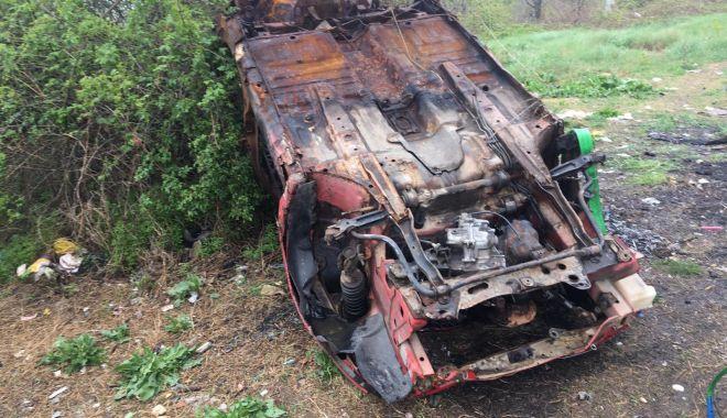 Foto: Maşinile abandonate prin Constanţa, ridicate de poliţiştii locali