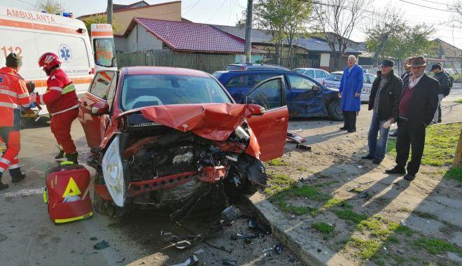 Foto: FOTO. Doi copii răniţi într-un accident, la Constanţa