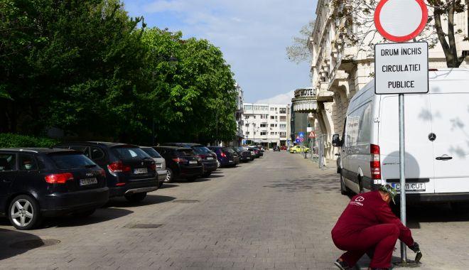 Foto: Atenție, constănțeni! De astăzi, se restricționează accesul auto în zona peninsulară!