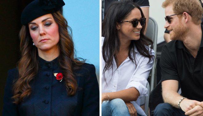 Foto: Kate Middleton, prima declarație despre Meghan Markle, după zvonurile din presă