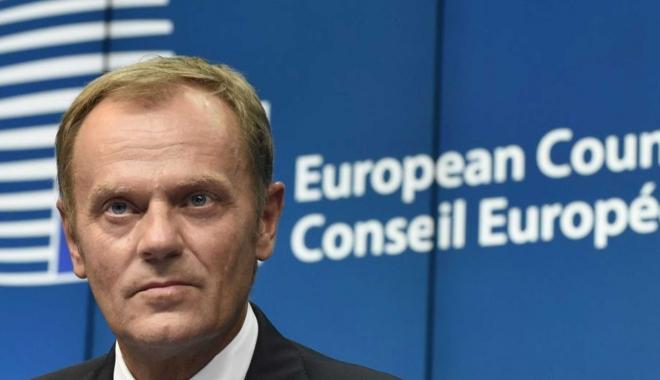 """Foto: Donald Tusk: """"UE a celor 27 trebuie să rămână unită în negocierile asupra Brexit"""""""
