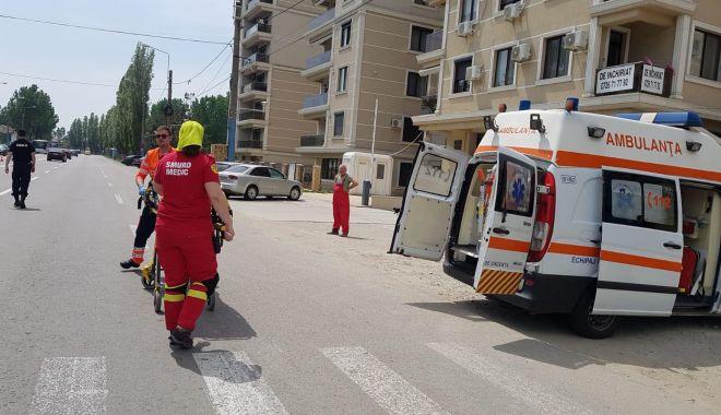 Foto: UPDATE. Accident rutier în Mamaia! Victima, o femeie