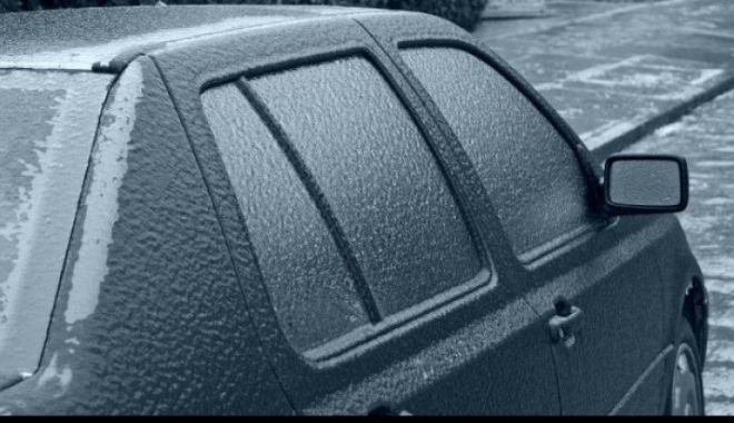 """Foto: Vine """"ploaia înghețată"""" peste România! MARE ATENŢIE LA UN DETALIU!"""
