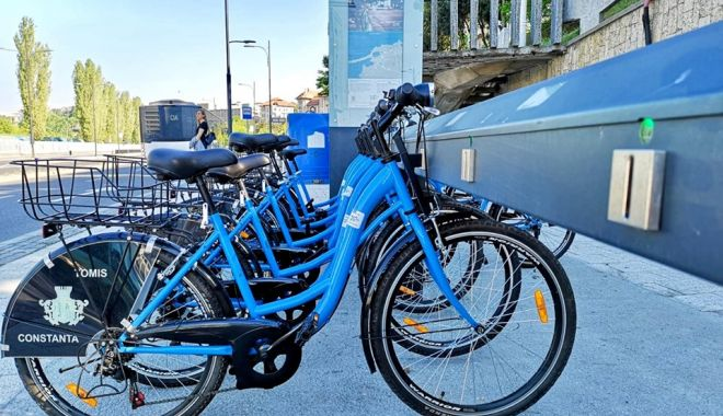 Foto: 390 de biciclete sunt puse la dispoziția constănțenilor și a turiștilor începând de astăzi!