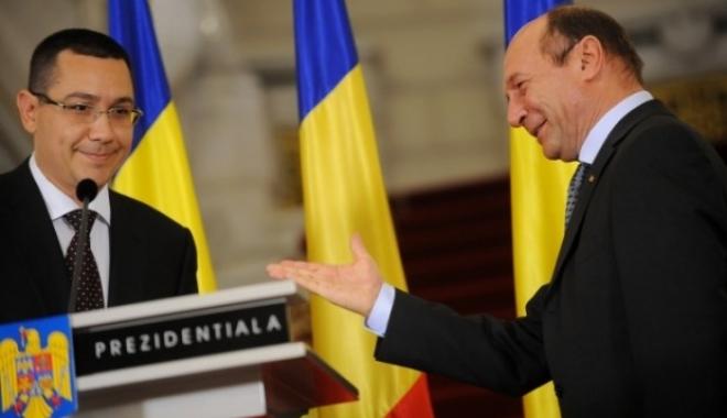 Foto: Băsescu: Îl dau în judecată pe Ponta
