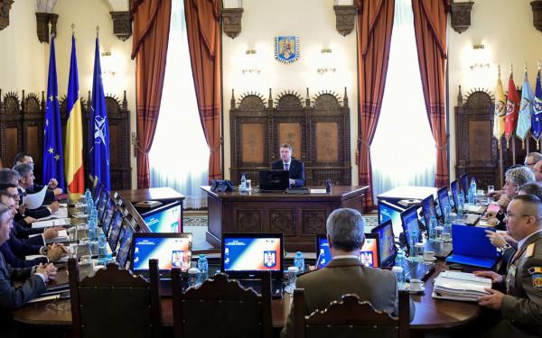 Foto: FINAL DE ŞEDINŢĂ CSAT. Ce a declarat preşedintele României despre strategia UE pe securitate și apărare