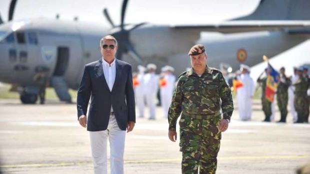 Foto: Ministerul Apărării a pierdut procesul cu preşedintele Klaus Iohannis privind numirea generalului Ciucă şef al Armatei