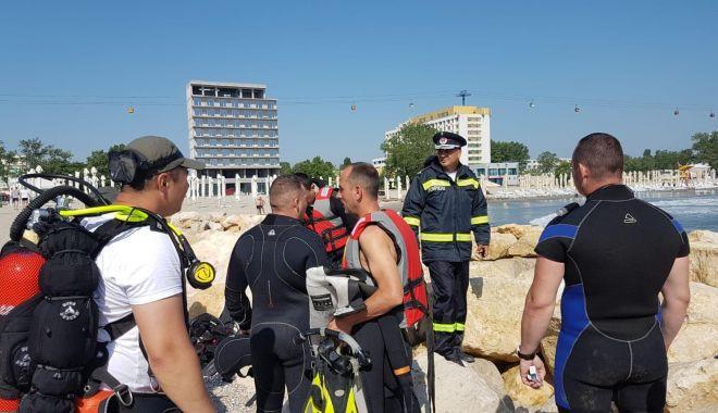 Foto: Elevul militar dispărut în valurile mării, căutat în continuare! A fost extinsă zona de acţiune