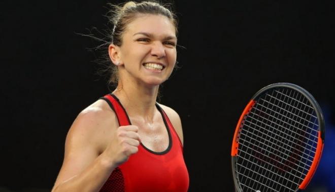 Foto: Simona Halep, primele declaraţii după calificarea în finala Australian Open: Tremur!