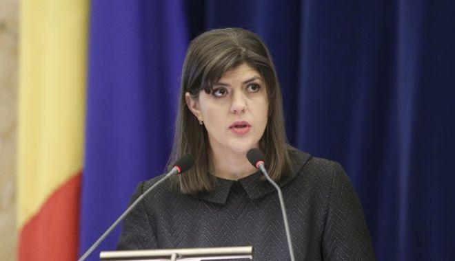 Foto: Laura Codruţa Kovesi, delegată la Parchetul General