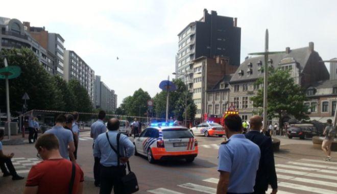 Foto: Atac armat în Belgia. Doi polițiști și un trecător, uciși la Liege