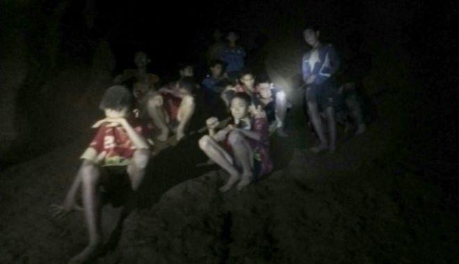 Foto: Informaţia zilei despre fotbaliştii salvaţi dintr-o peşteră din Thailanda
