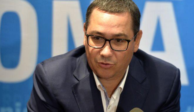 Foto: Victor Ponta: O să mergem toți să-l votăm pe Iohannis, ca să nu iasă Dragnea