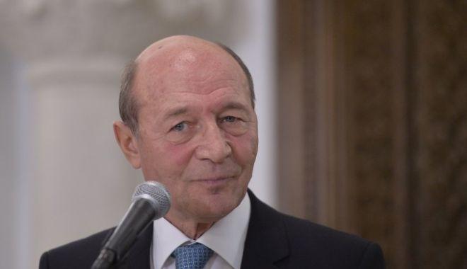 Foto: Traian Băsescu, audiat la DNA: Nu e vorba despre nicio acuzaţie la adresa mea, nu este vorba despre nicio mită