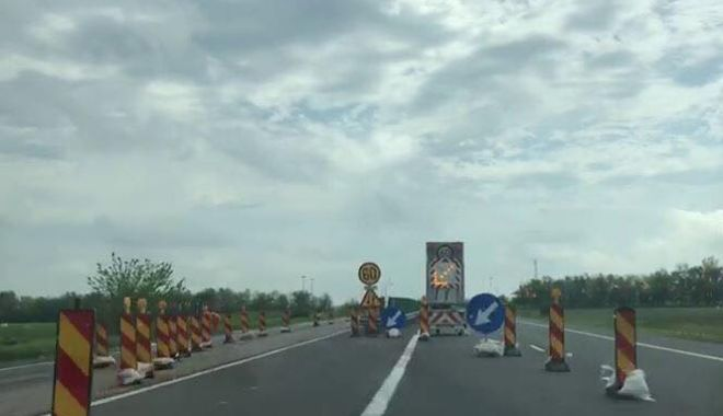 Foto: Noi restricţii de circulaţie pe Autostrada Soarelui