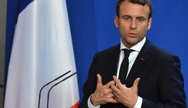 Foto: 62% dintre francezi sunt mulţumiţi de preşedintele Macron