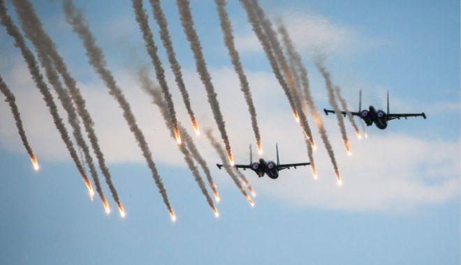 Foto: Două avioane de luptă Su-34 s-au ciocnit. Ce s-a întâmplat cu piloţii