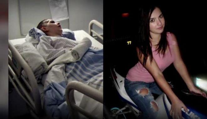 Foto: Ioana, tânăra băgată în comă de un proxenet în Germania, a murit la spital