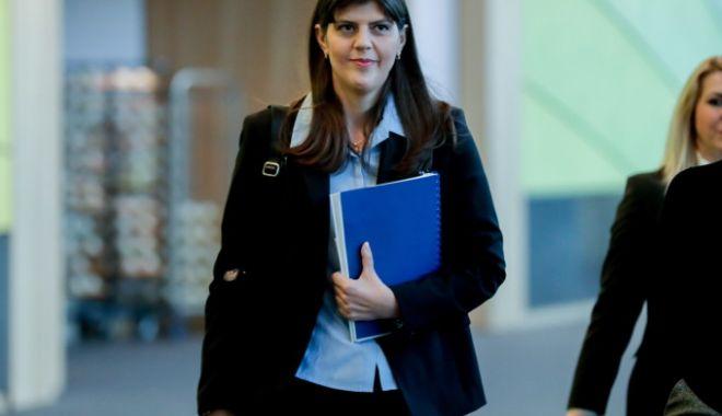 Foto: Este oficial: Secția specială anunță că Laura Codruța Kovesi este urmărită penal într-un nou dosar