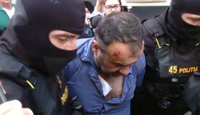 Foto: Criminalul poliţistului din Timiş, arestat pentru 30 de zile