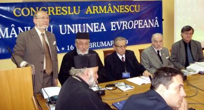 Foto: Aromânii s-au unit împotriva celor care, pentru scopuri mercantile, vor să le schimbe istoria