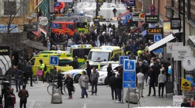 Foto: ALERTĂ MAE / Un cetățean român a fost rănit în urma atacului de la Stockholm. Starea lui este stabilă