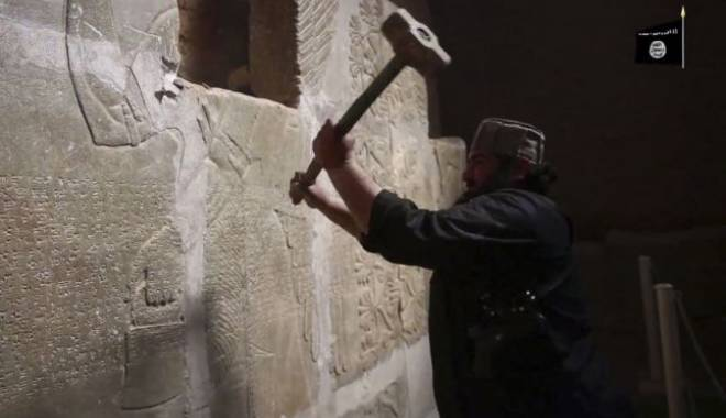 """Foto: """"Atacurile barbare asupra siturilor arheologice - crime de război!"""""""