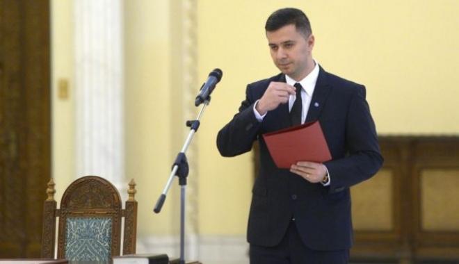 Foto: Ministrul delegat pentru Fonduri Europene, Marius Nica, a demisionat