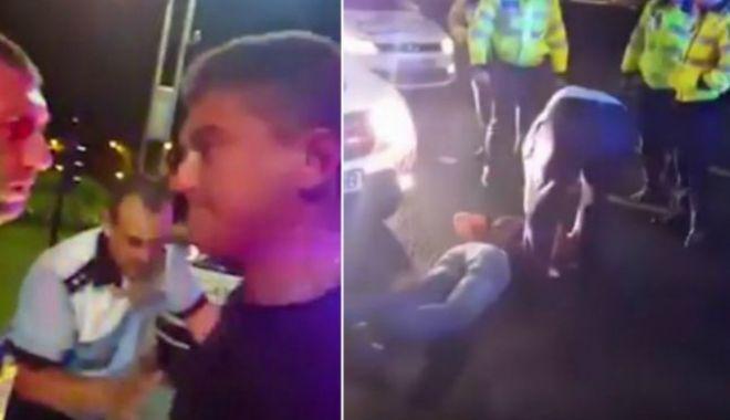 Foto: Poliţistul lovit de Cristian Boureanu cere despăgubiri de 50.000 euro