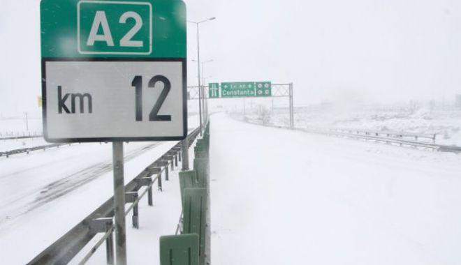S-a deschis circulația pe Autostrada Soarelui. Alte drumuri din județul Constanța au fost deschise