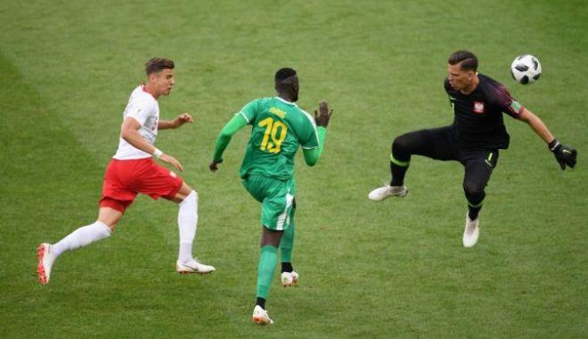 Foto: CM 2018.  Senegal a dat lovitura în meciul cu Polonia, cu două goluri bizare