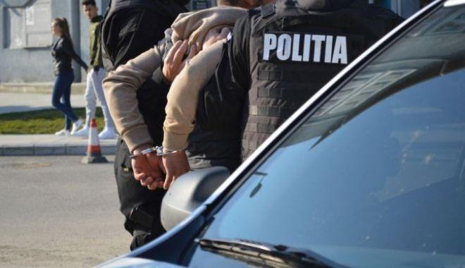 Foto: Tânăr arestat pentru tentativă de omor, depistat la Constanţa